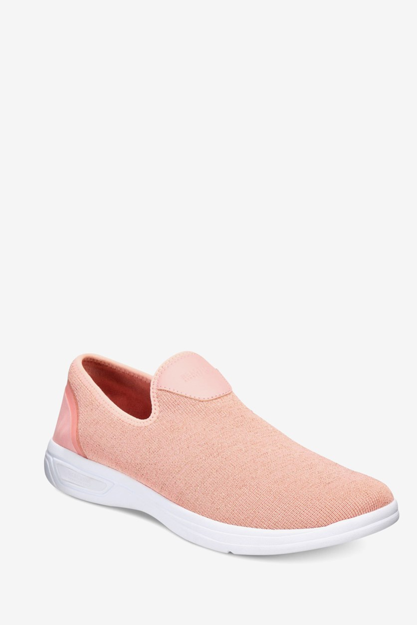 Women's The Ready Sneaker Fabric Low Top, Blush Pink