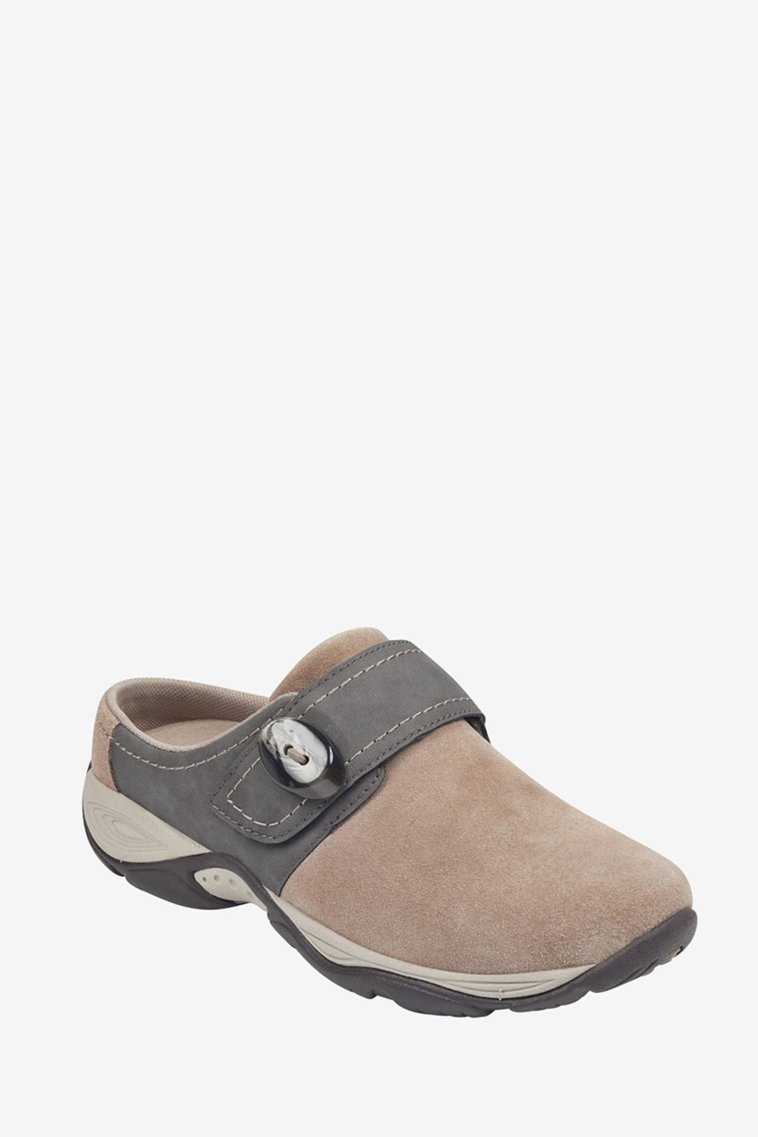 Women's Equip Mule, Taupe Suede