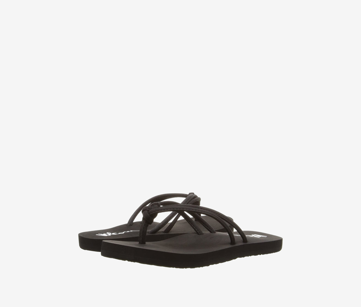 Kid's Girl's Forever & Ever Flip Flop, Black