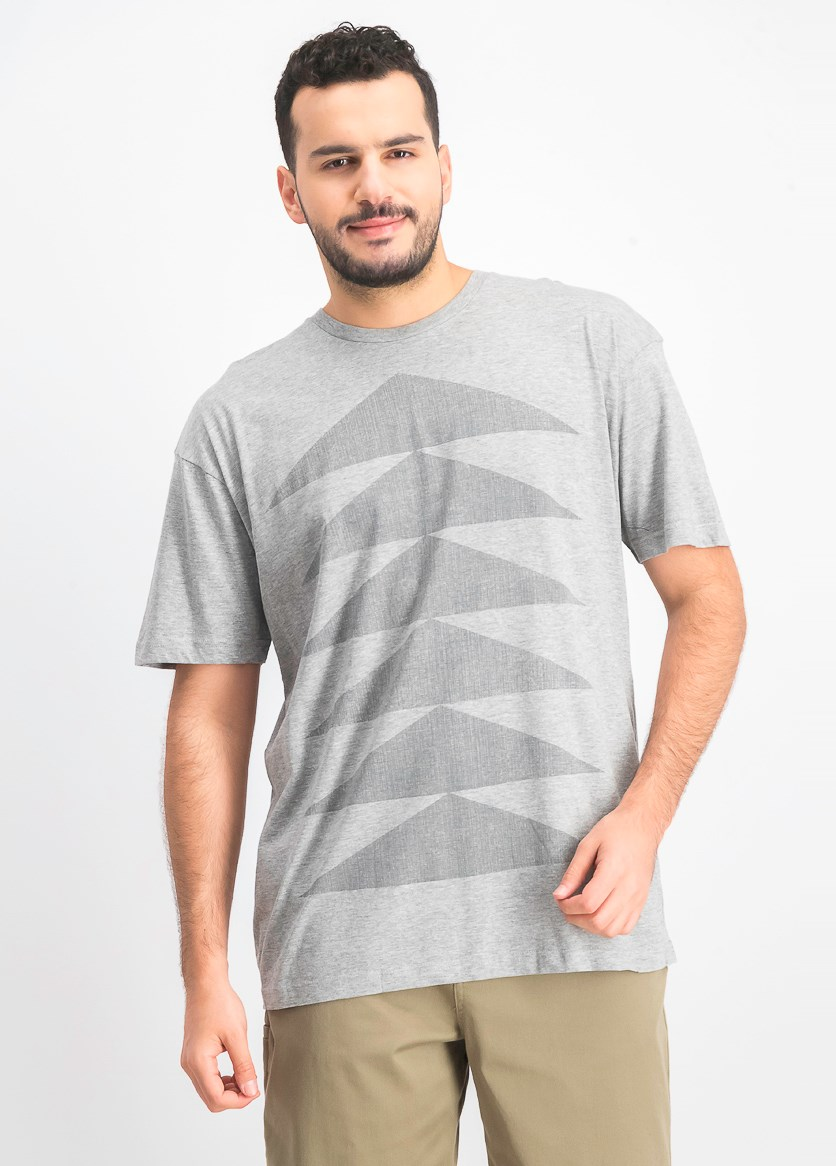 Men's Short Sleeve T-shirt, Grey