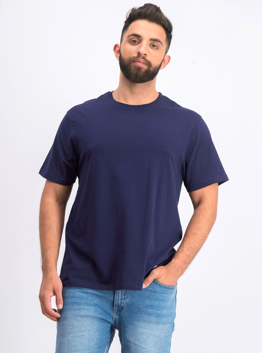 Men's Crewneck T-Shirt, Navy