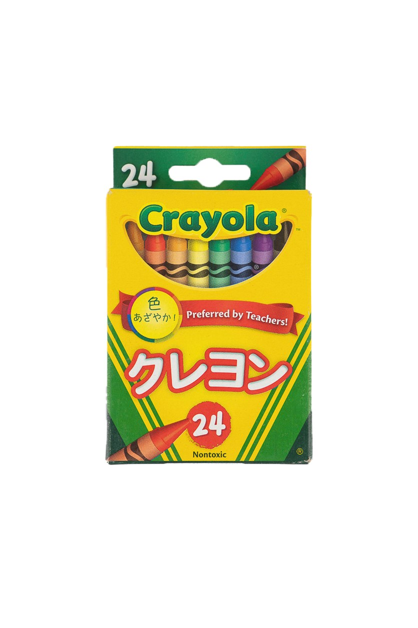 Crayons Featuring Bluetiful, 24 Count