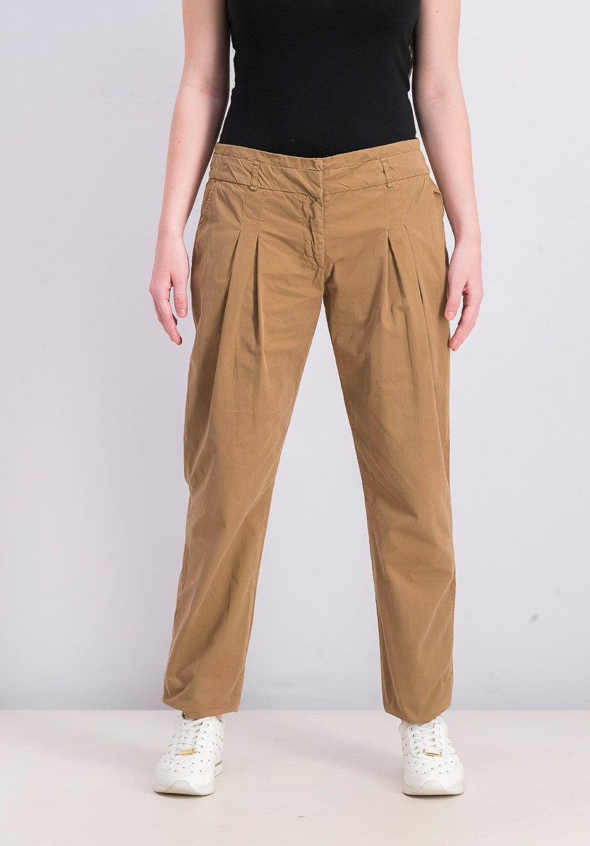 Women's Four Pocket Pants, Camel