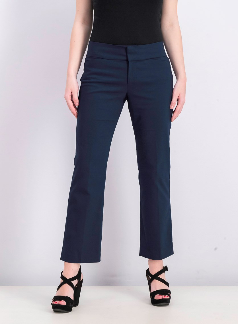 Women's Petite Graham Bootcut Pants, London Navy