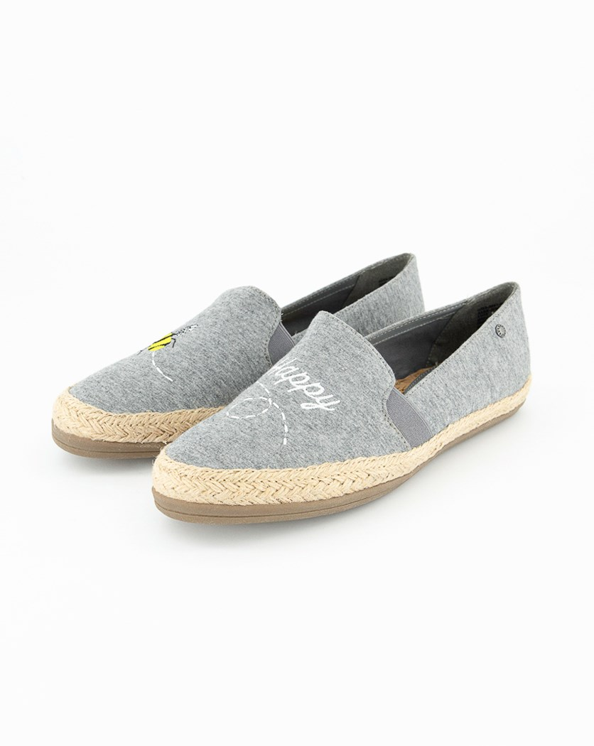 Womens Slip-on Casual Shoes, Grey