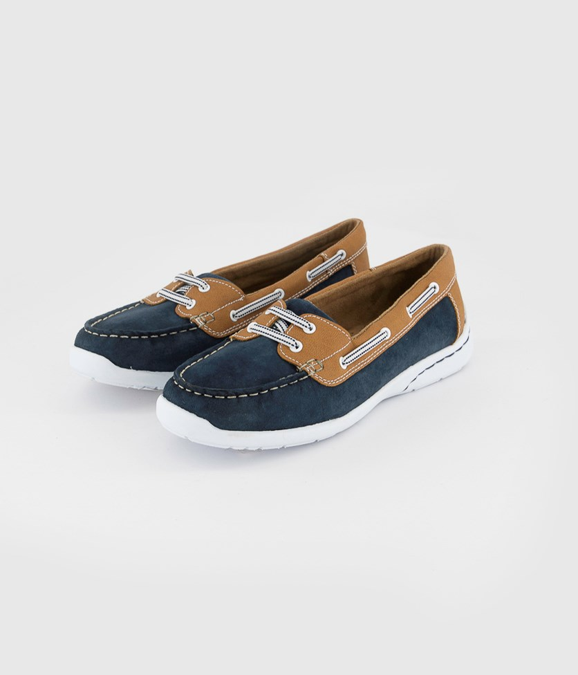 Women's Stern Casual Shoes, Navy