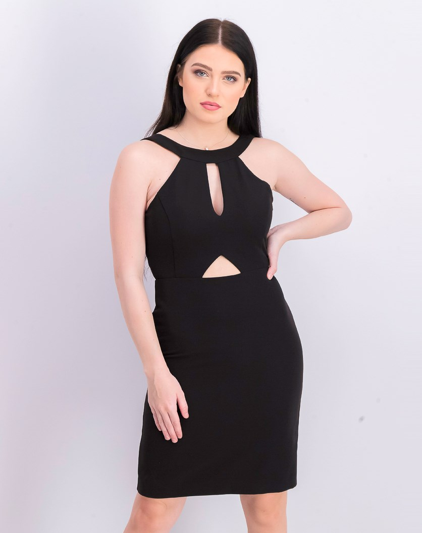Women's Segal Cutout Cocktail Dress, Black