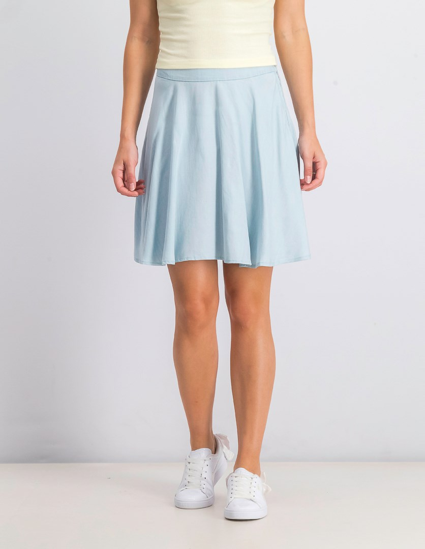 Women's A-Line Mini Skirt, Chambray