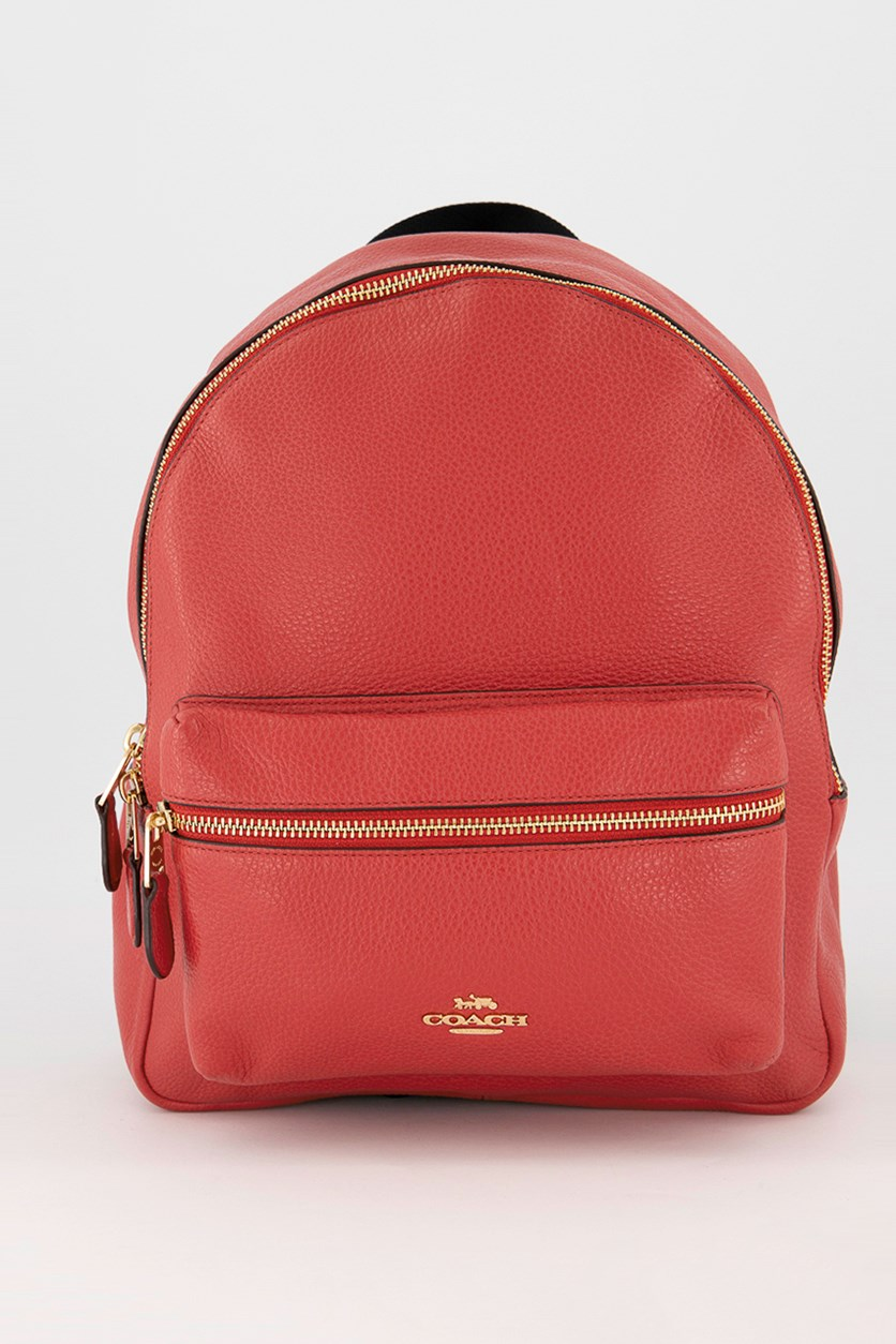 Women's Medium Charlie Backpack, Ruby
