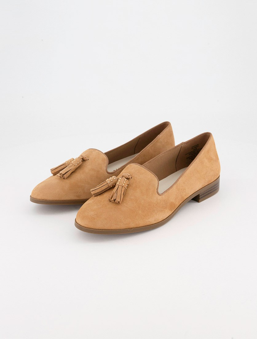 Women's Duval Loafer Flat, Natural