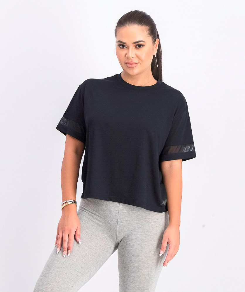 Women's Relentless Plain Top, Black