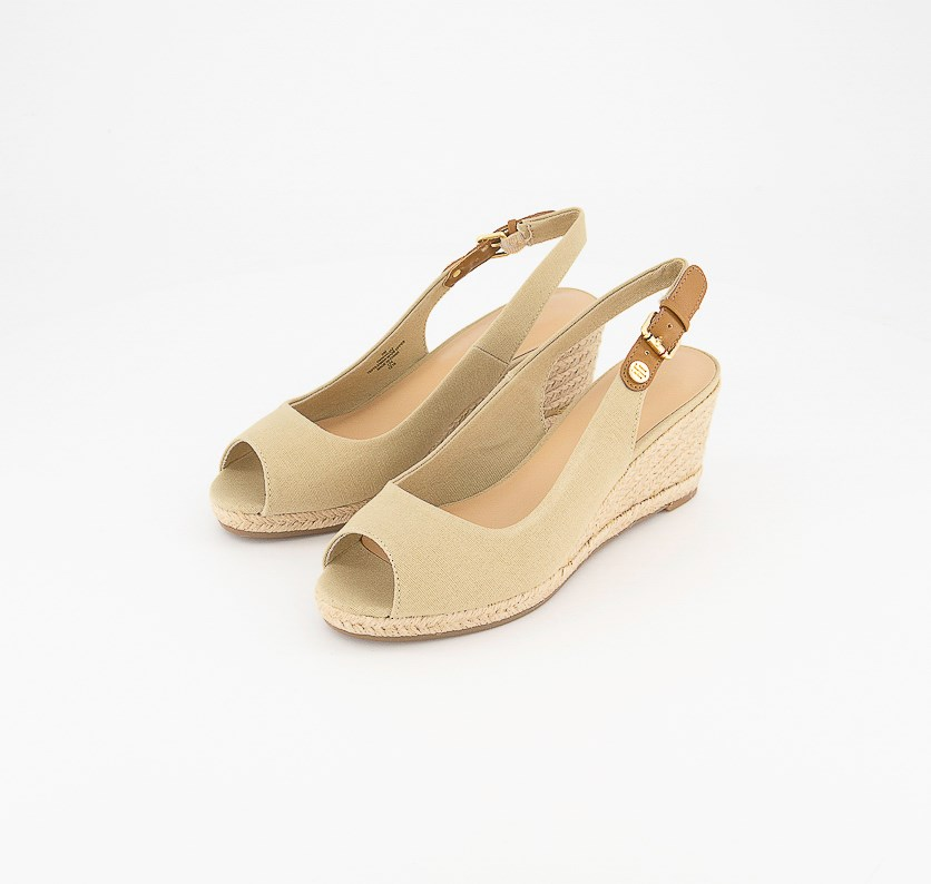 Women's Nhalia Wedge Sandals, Light Natural