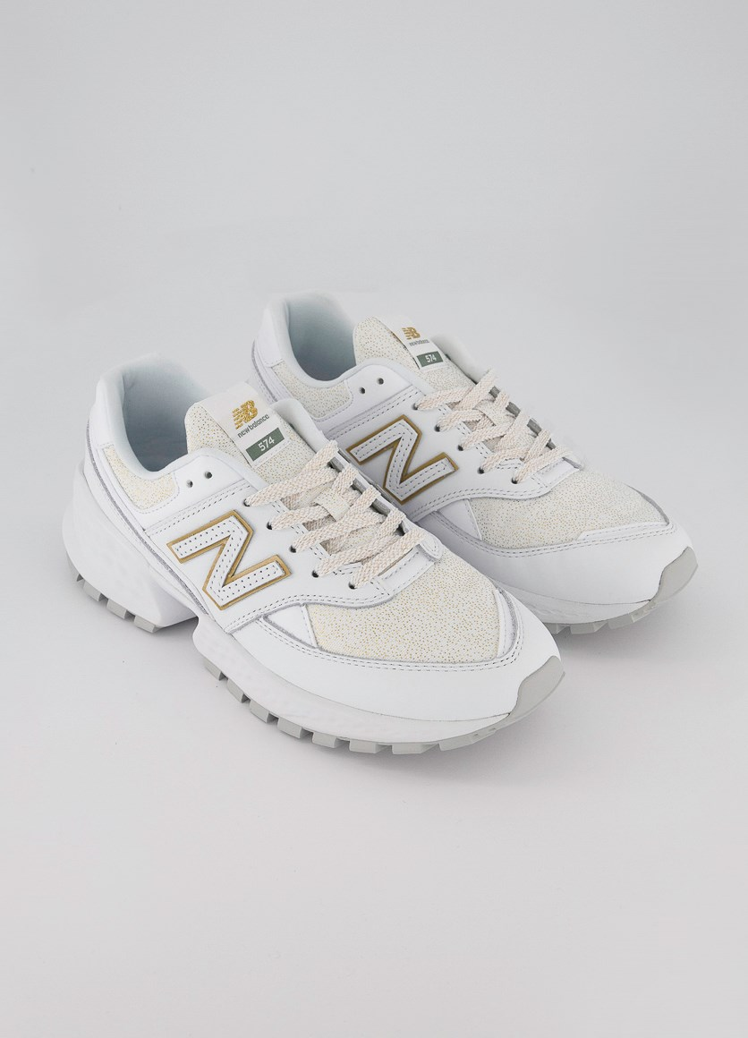 Women's Lifestyle Shoes, White'Gold