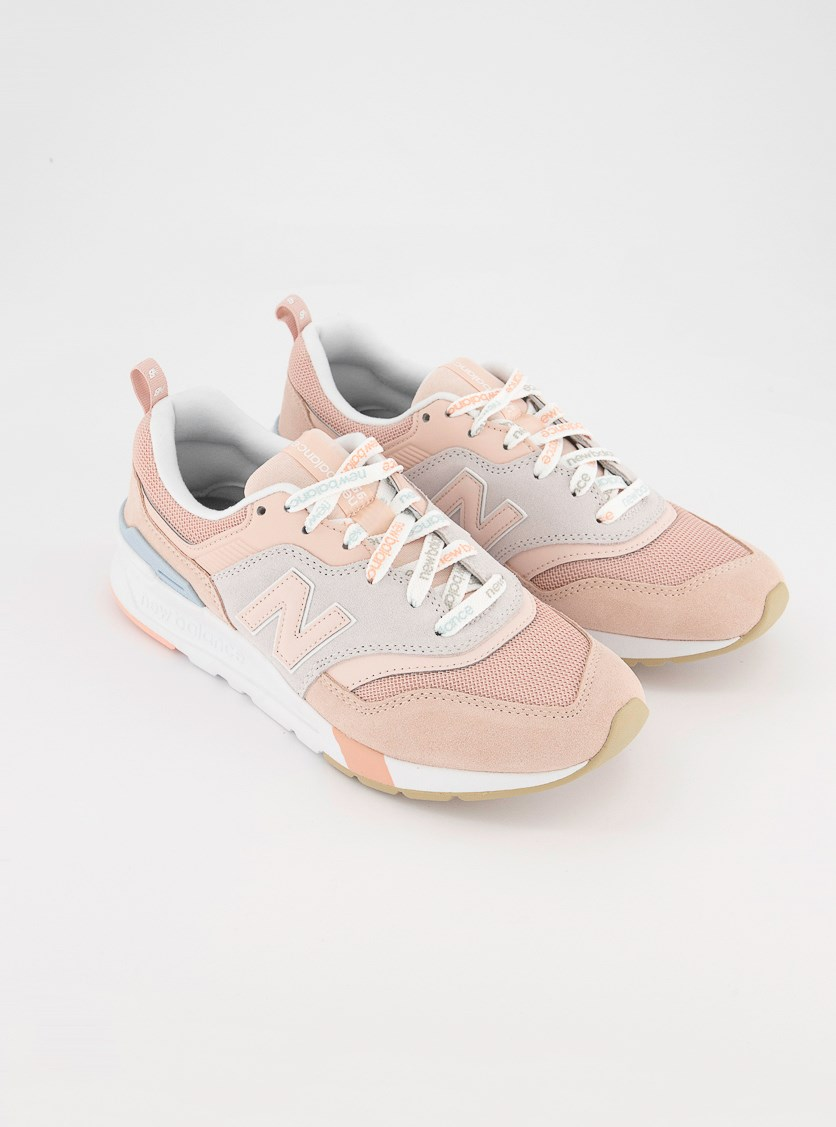 Women's Running Shoes, Pink/Grey/White