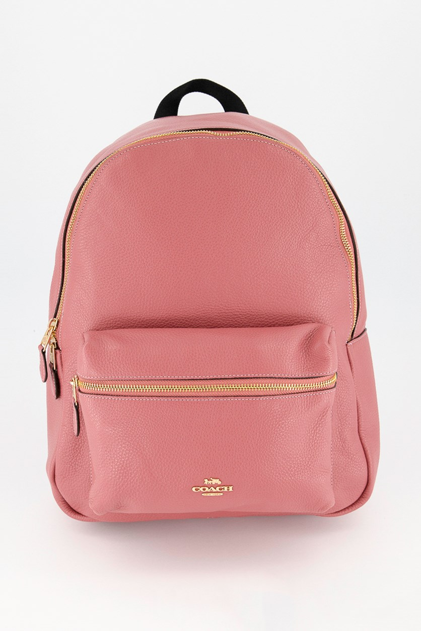 Women's Charlie Backpack, Rouge
