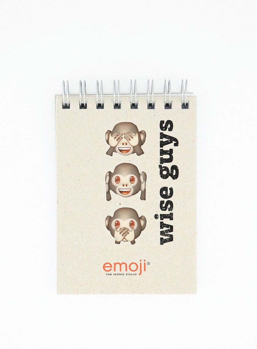 Wise Guys Wire-O A6 Notebook, Tan
