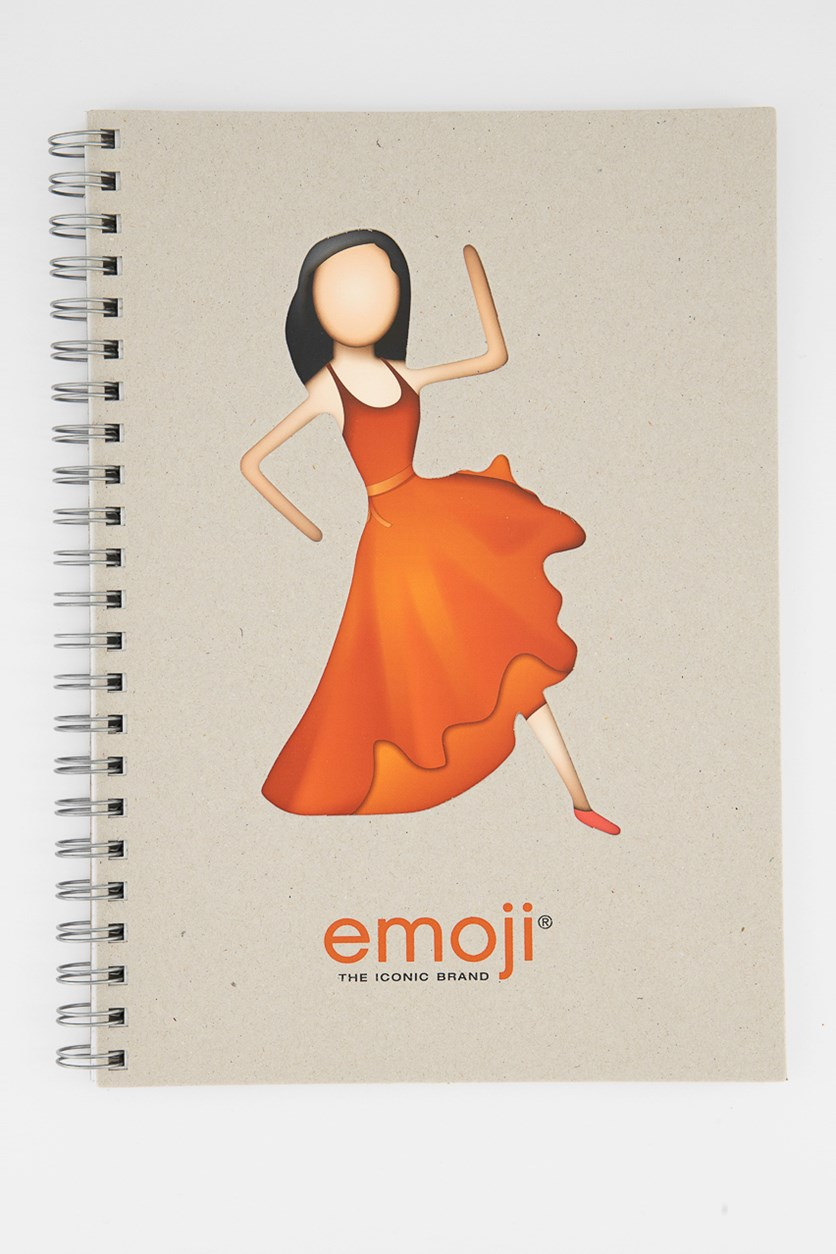 Flamenca Emoji Notebook, Tan