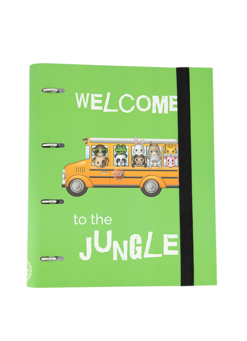 Statfold Welcome To The Jungle Notebook, Green