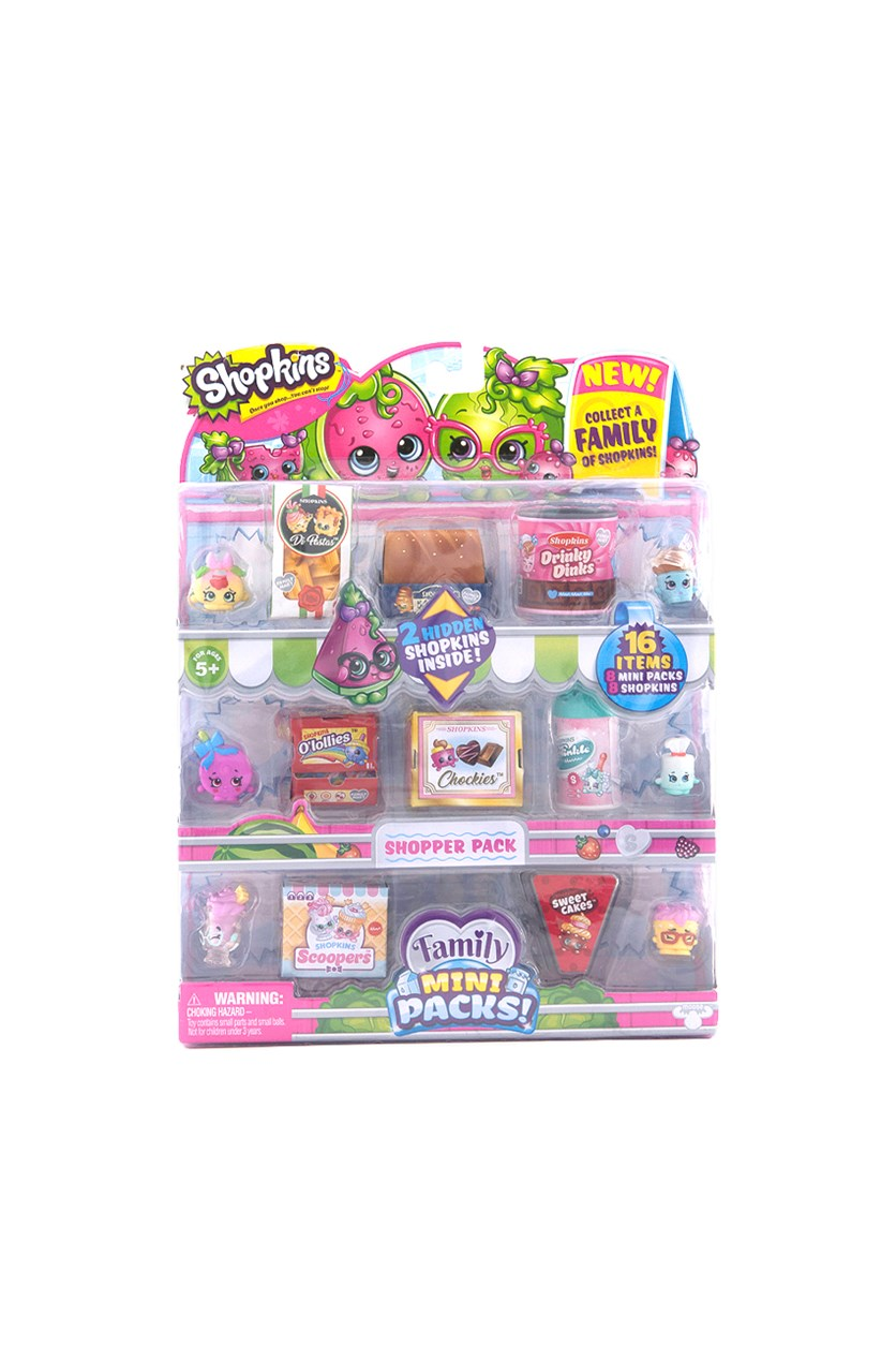 Shopkins Shopper Pack, Pink Combo