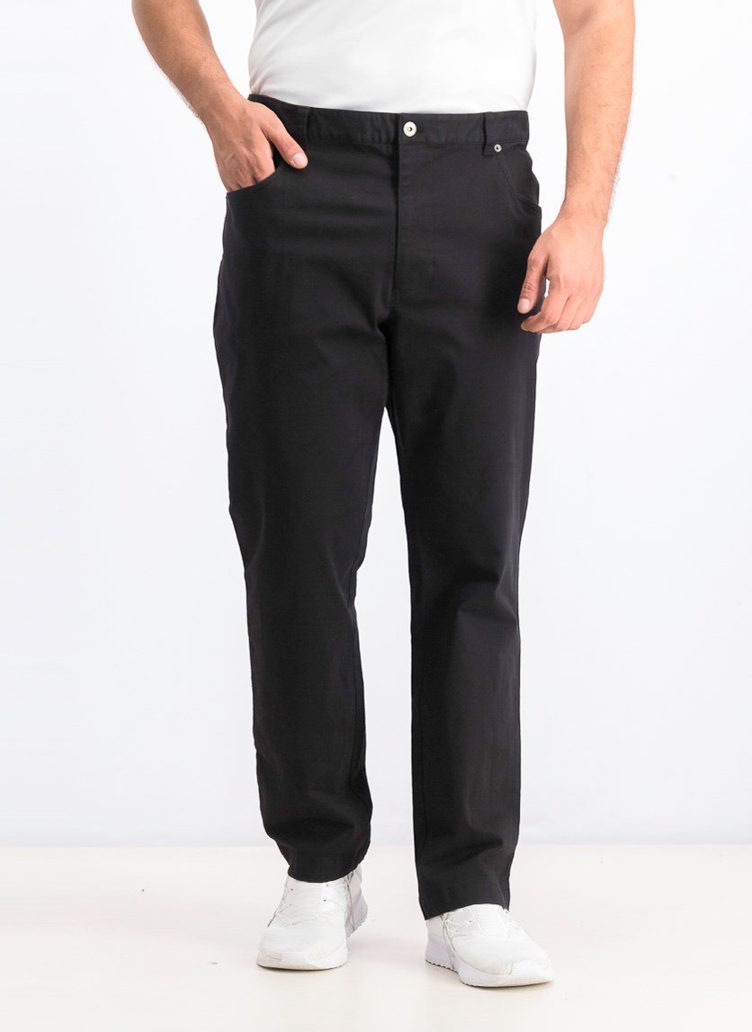 Men's Classic-Fit Stretch Pants, Black
