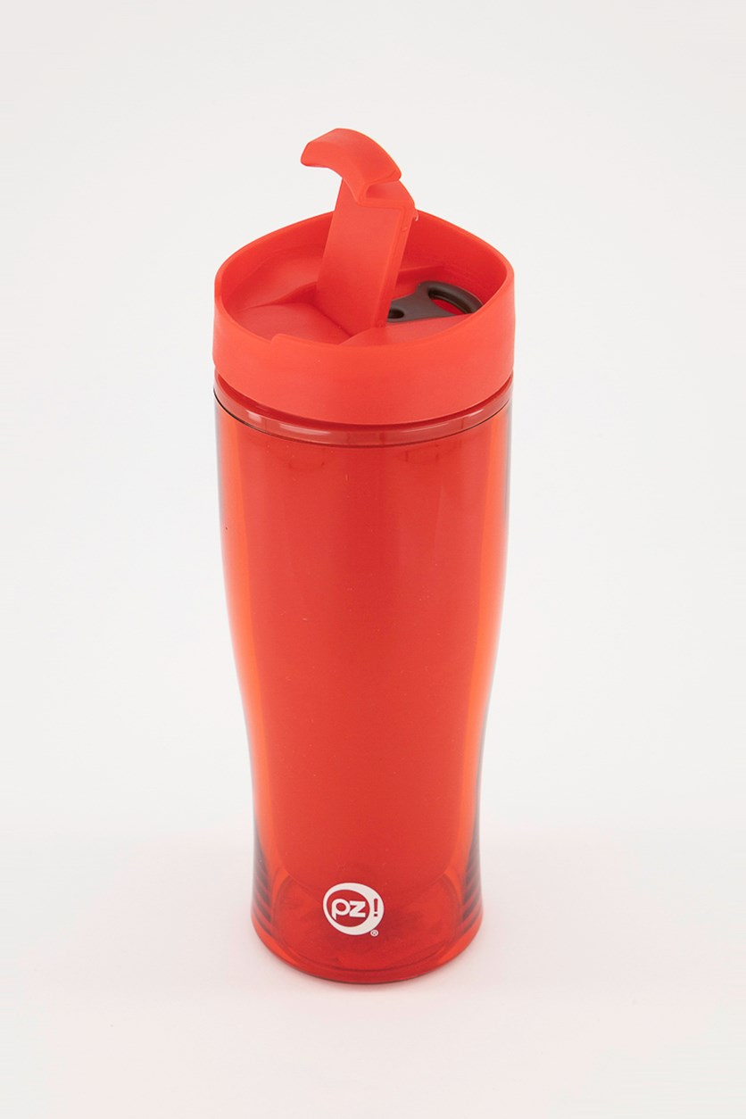 Insulated Travel Tumbler, Red