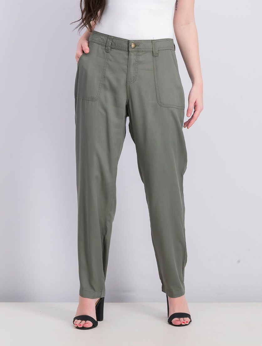Women's Tapered Utility Pants, Co Sage