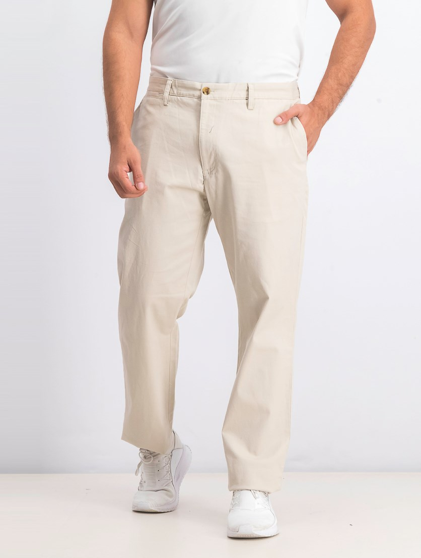 Men's Stretch Classic Fit Pants, Stone Wall