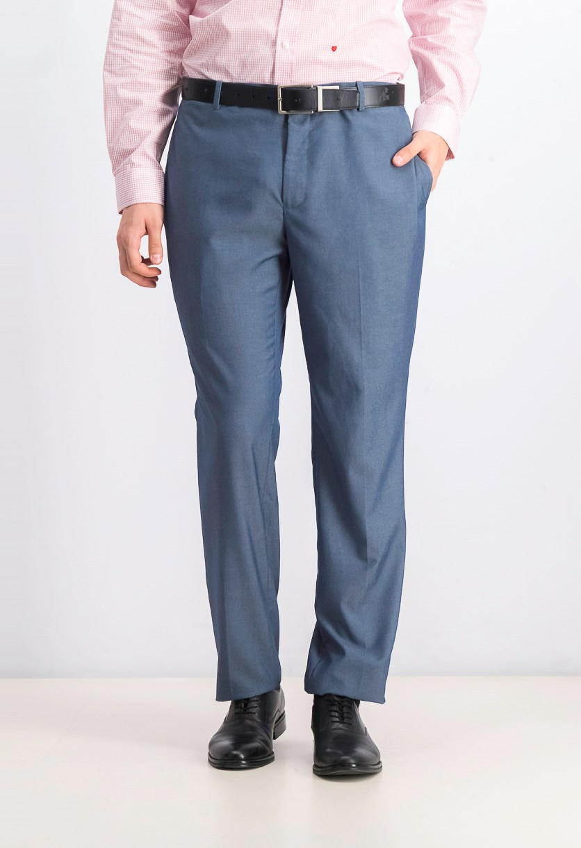 Men's Paul Slim-Fit Pants, Light Blue