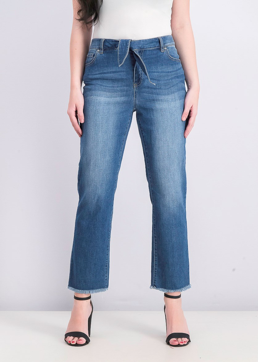Womens Pull-on Jeans, Blue