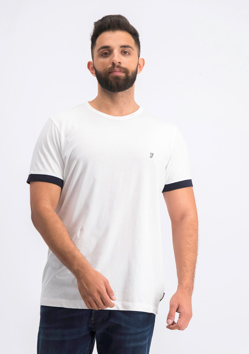 Men's Short Sleeve Pocket Tee, White