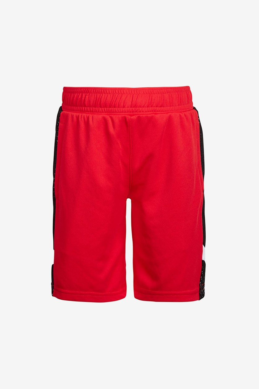 Toddler Boys Mesh-Inset Shorts, Red