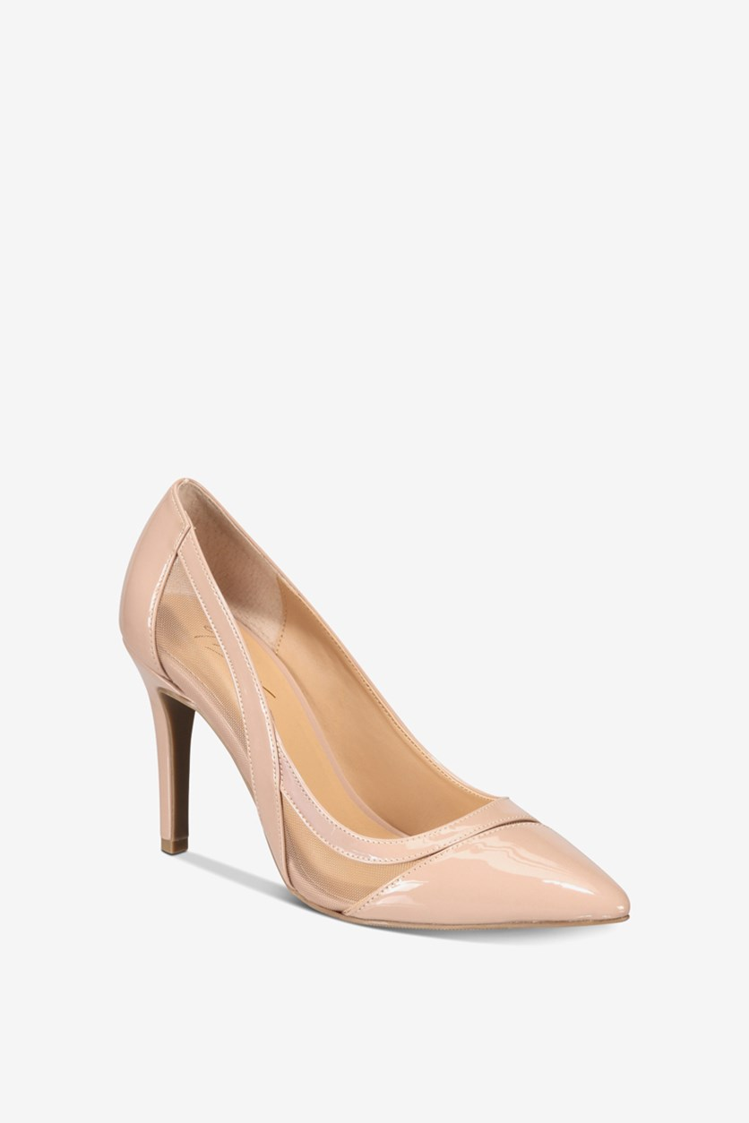 Women's Nadelyn Pointed Toe Pumps, Nude Patent