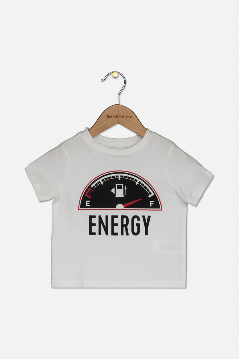 Baby Toddlers Pullover Graphic Tops, White