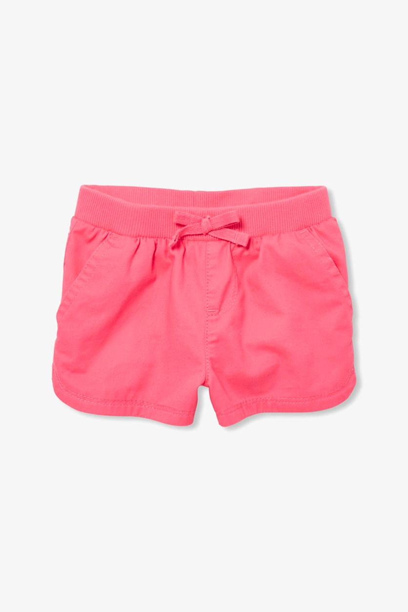 Baby Girls Plain Short, Pink