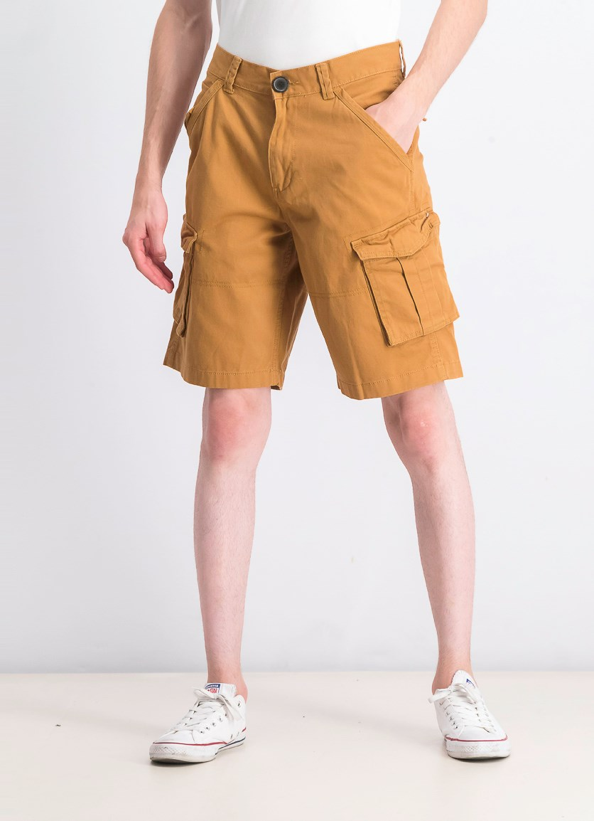 Men's Cargo Shorts, Tan