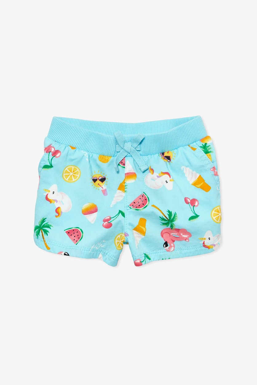 Toddlers Printed Short,  Seagrove