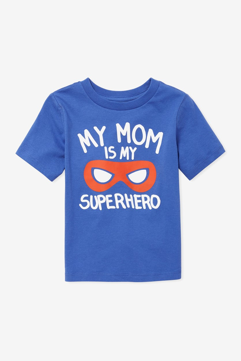 Baby Boys Graphic T-Shirt, Blue Saphire