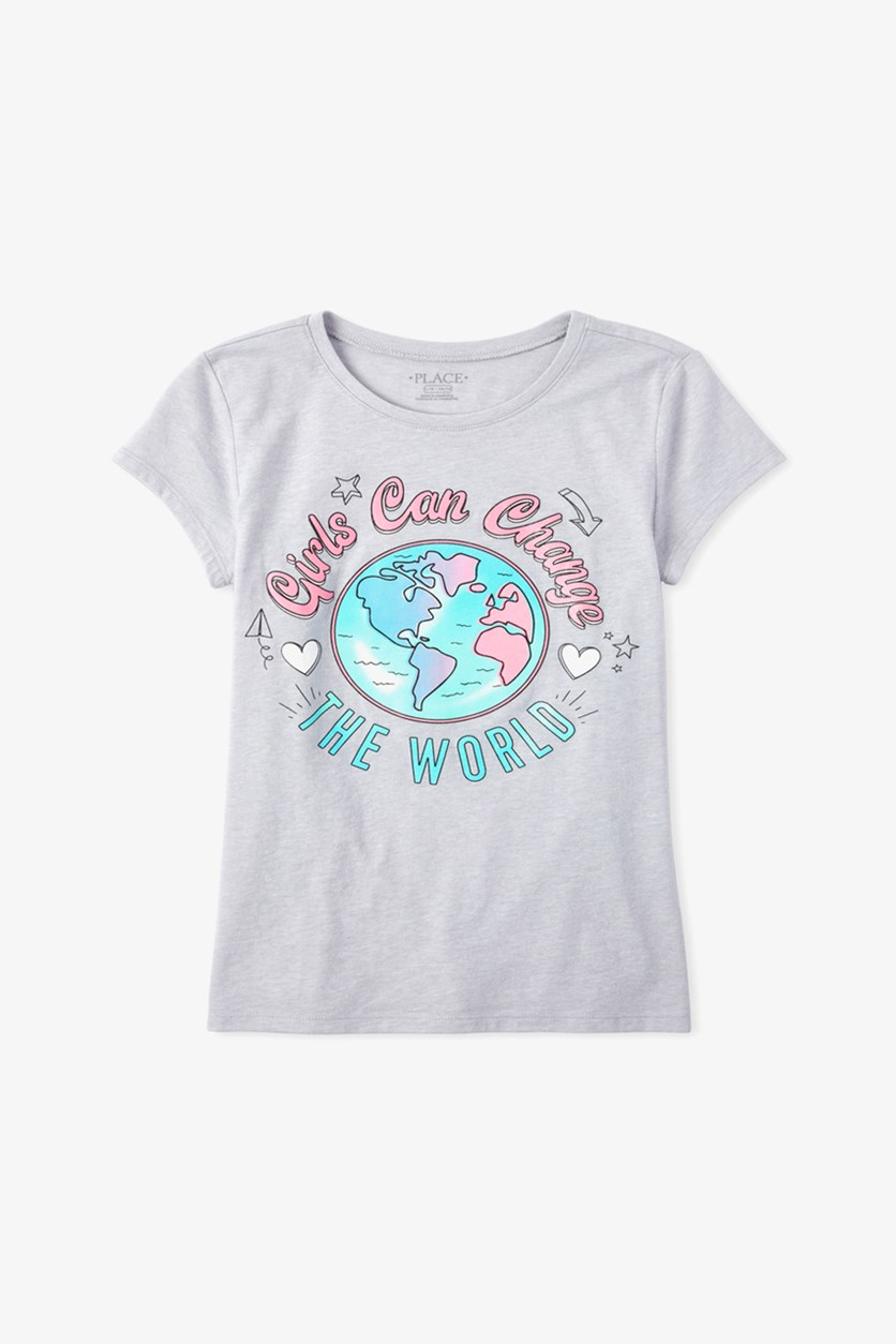 Girls Pullover Graphic Tops, Ice Cave