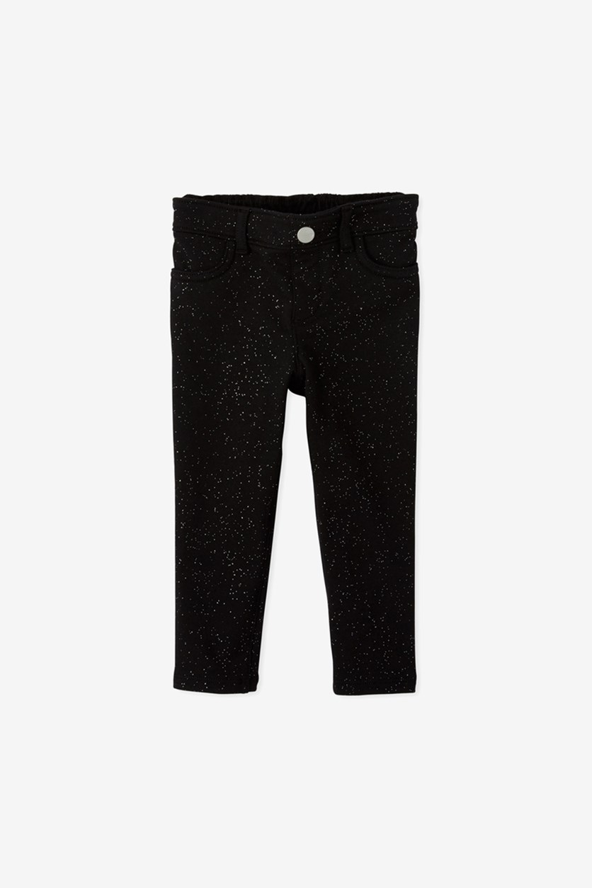Toddlers Pull-on Pants, Black