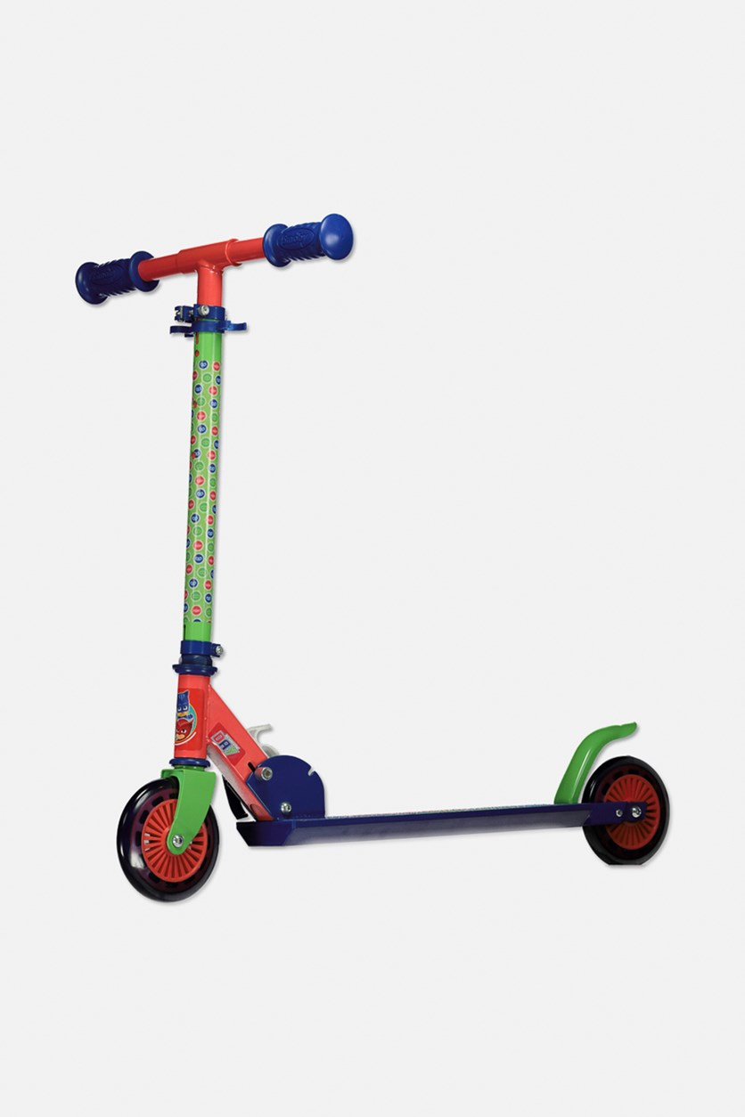 PJ Mask Scooter, Red/Green/Blue