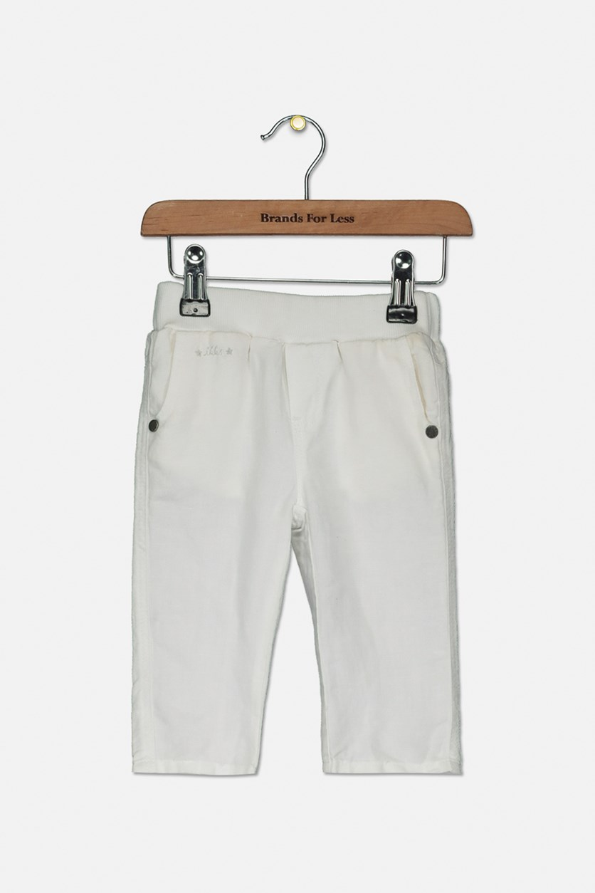 Baby Pull On Pants, Ivory