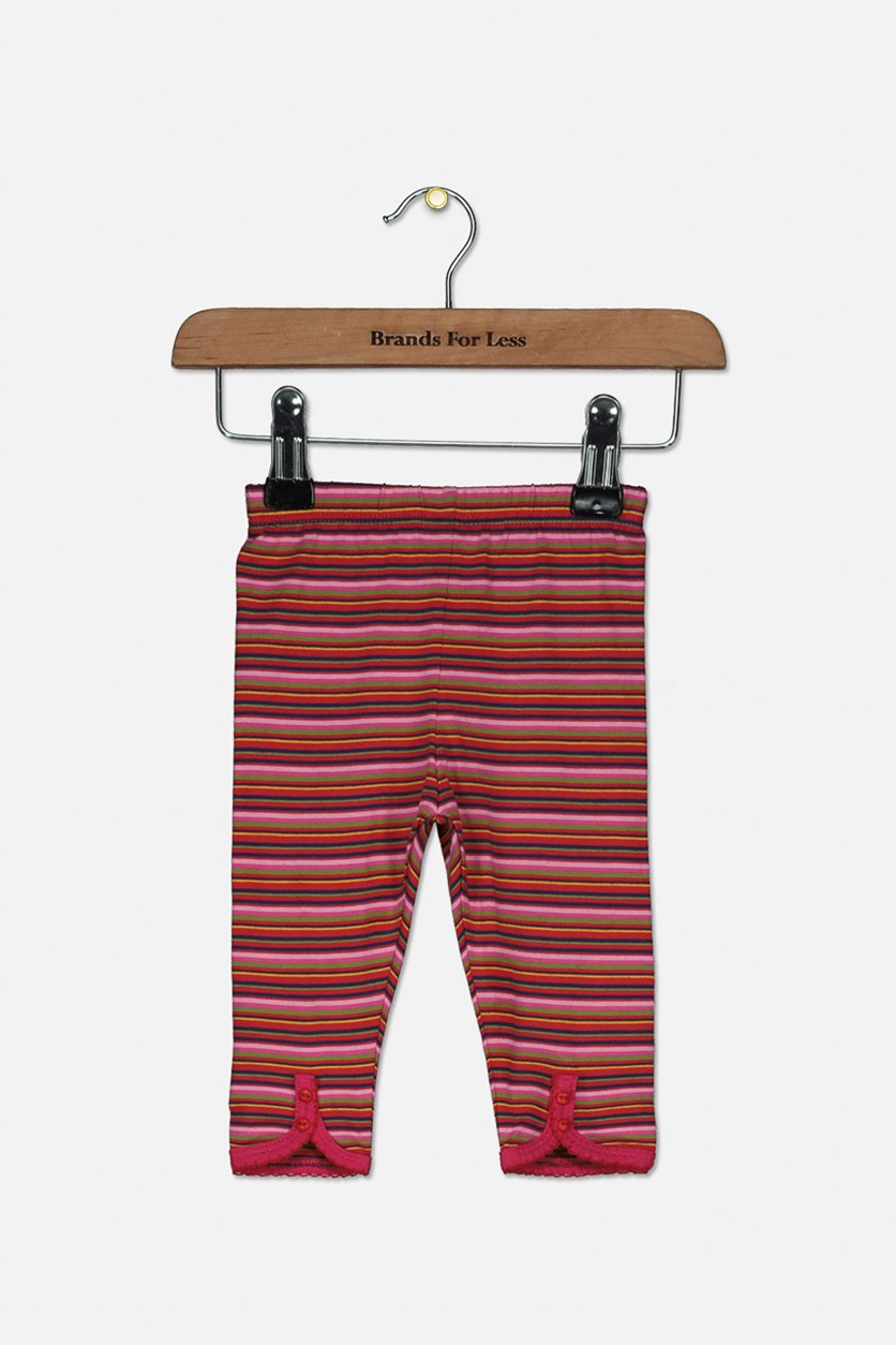Toddlers Leggings Cotton, Red