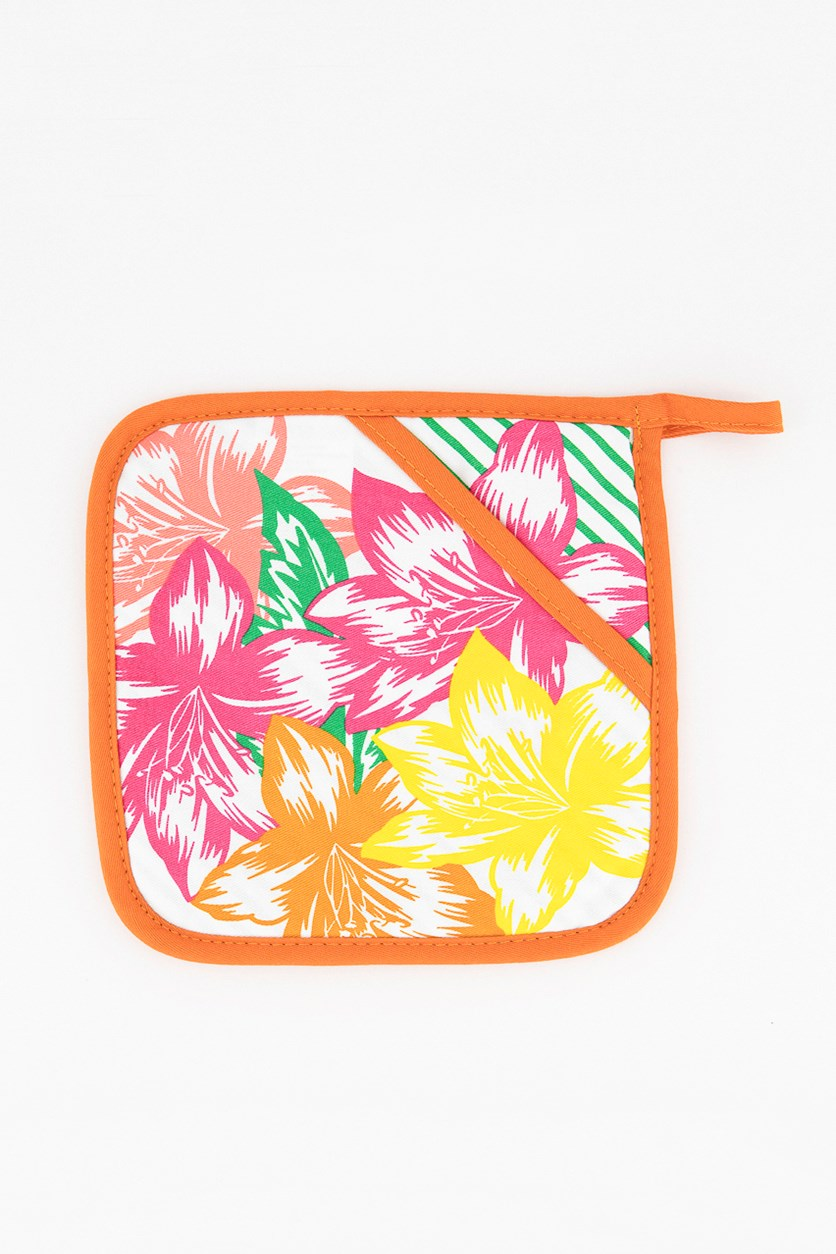 Kitchen Floral Grip Aid With Intervention, Orange Combo
