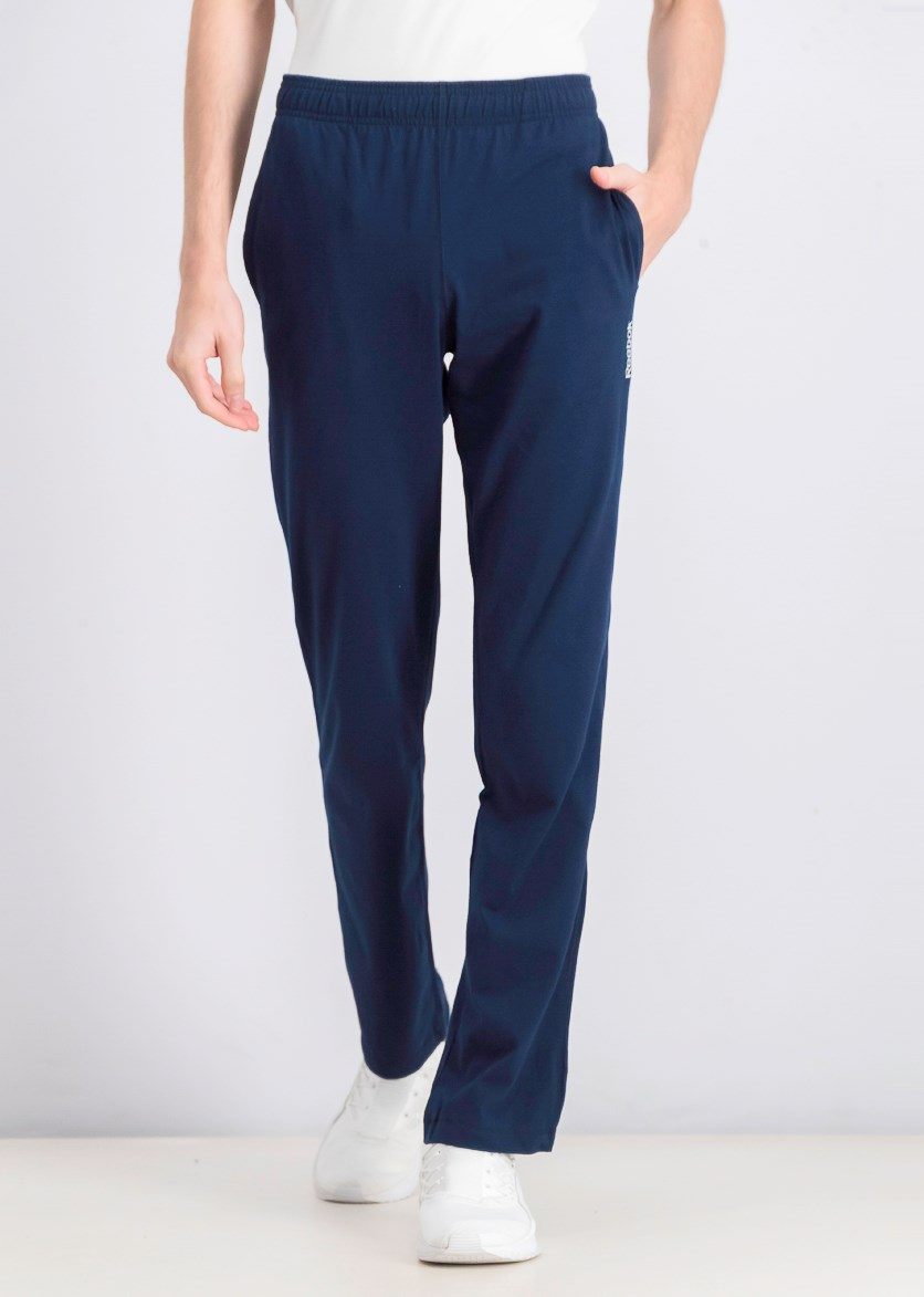 Men's Pull On Jersey Pants, Navy