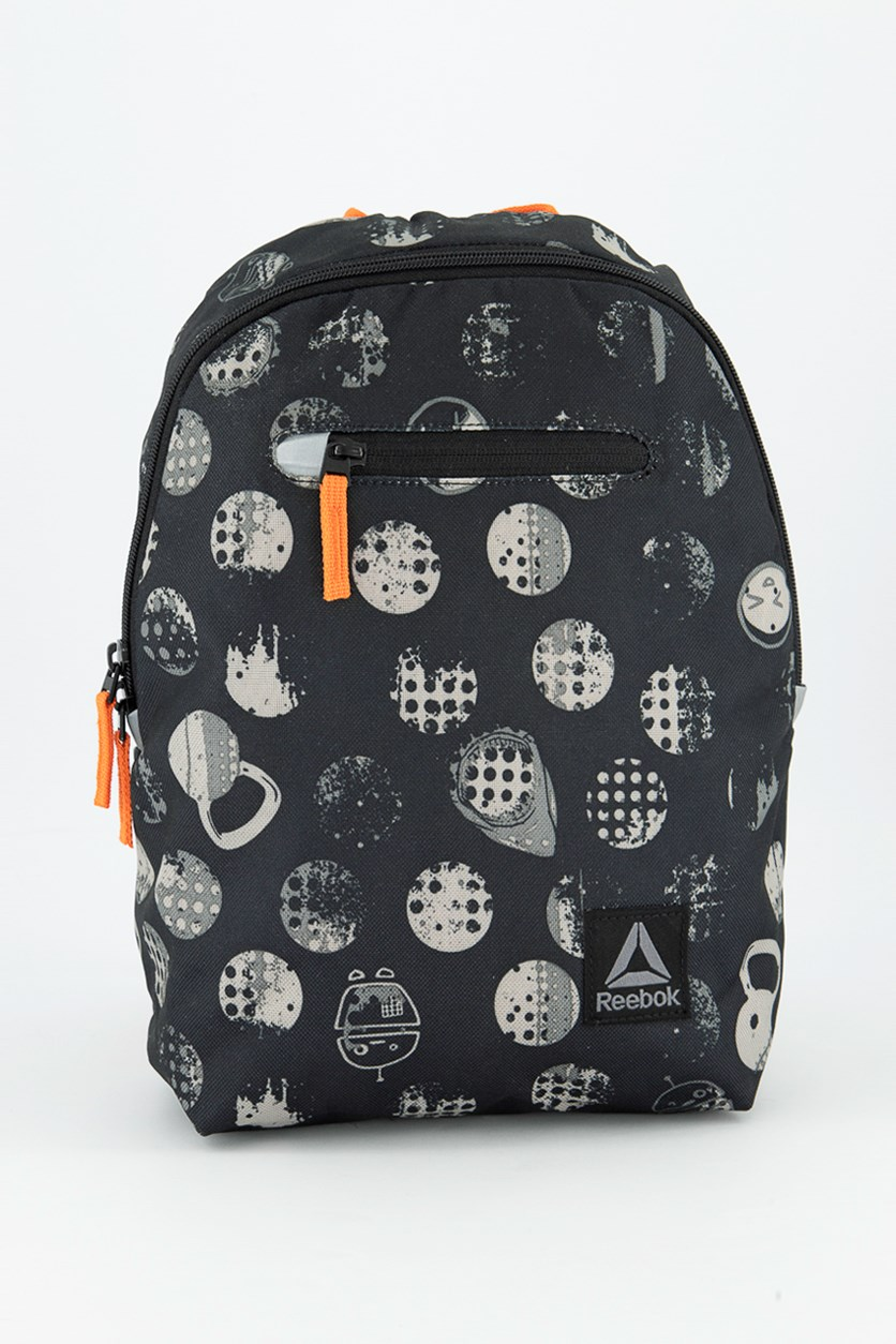Kids Graphic Backpack, Black
