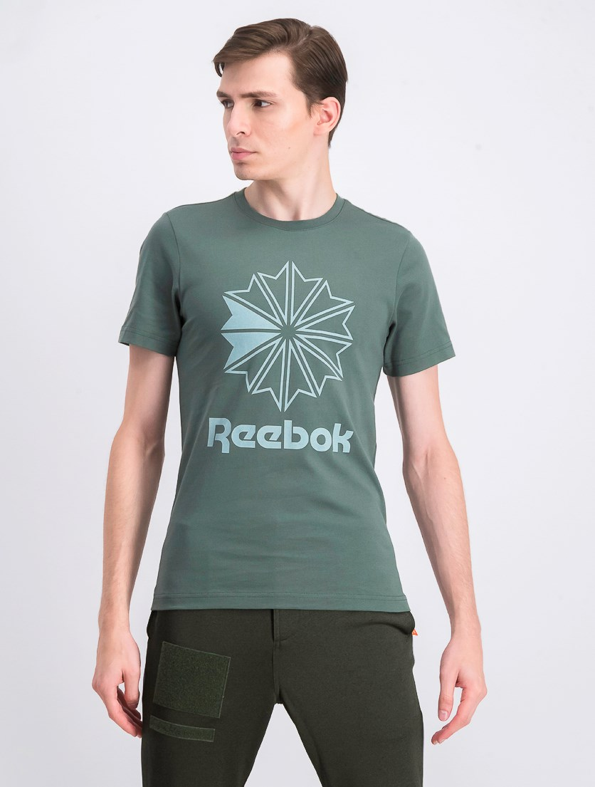 Men's Graphic Printed T-Shirt, Green