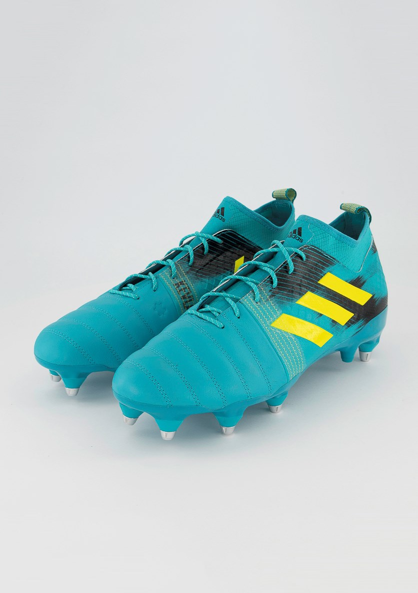 Kakari X Kevlar Soft Ground Rugby Shoes, Turquoise Combo