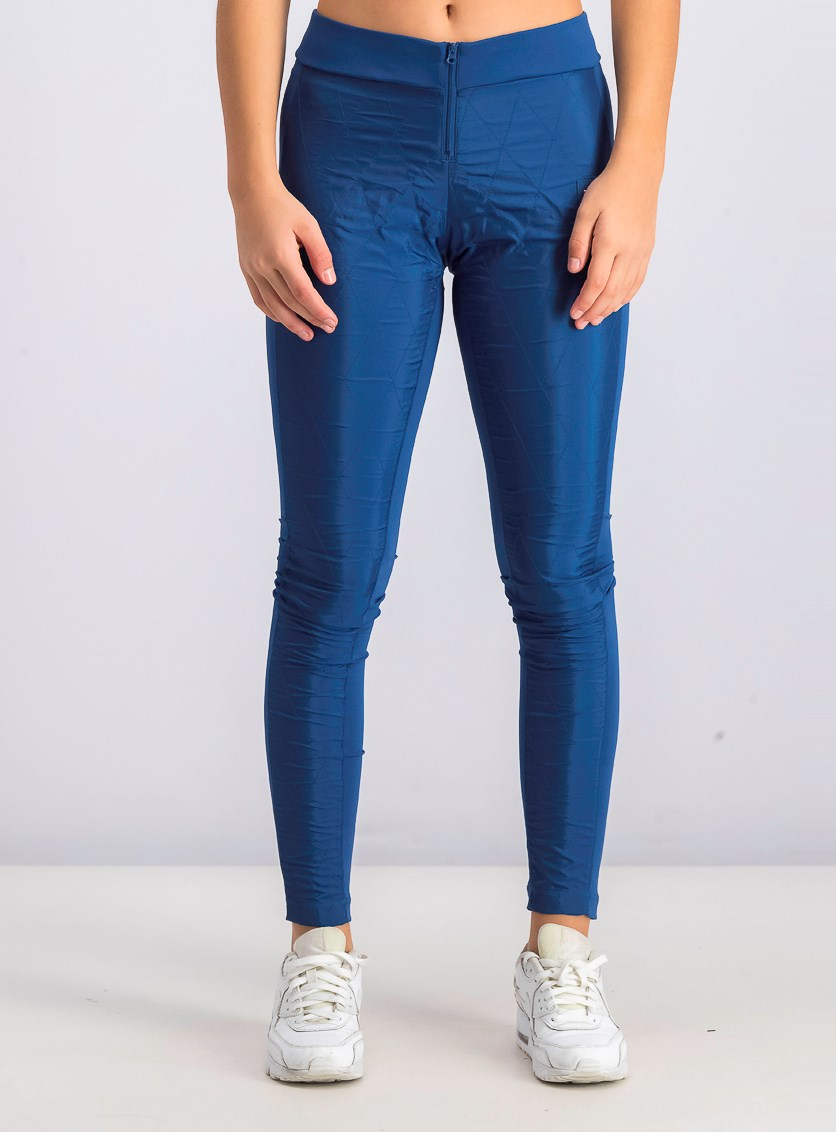 Womens Es Leggings Sportswear, Blue