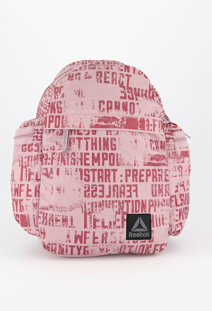 Kids Graphic Backpack, Blush Pink