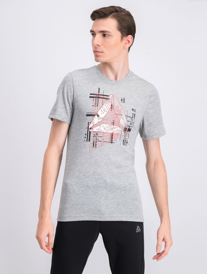 Men's Graphic Series Foundations AOP T-Shirt, Grey